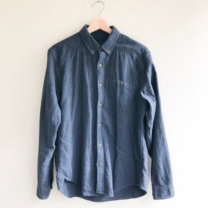 J. Crew Flannel with suede elbow patches